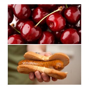 Cherry Brat Links