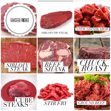 Serendipity Farms Grassfed Beef Bundle 1