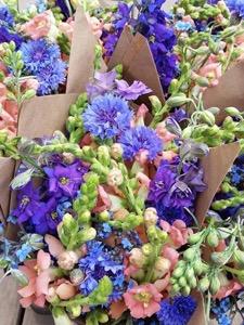 Fresh bouquet flowers