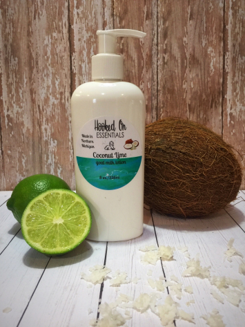 Coconut Lime goat milk lotion