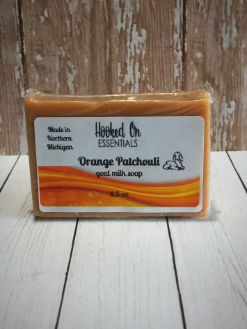 Orange Patchouli soap