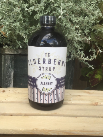 Organic Elderberry Allergy SYRUP