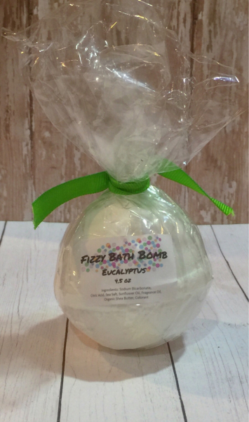 Fizzy Bath Bomb Eucalyptus