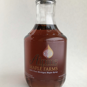 Maple Syrup Decanter pint
