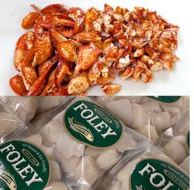 Scallops & Lobster Meat