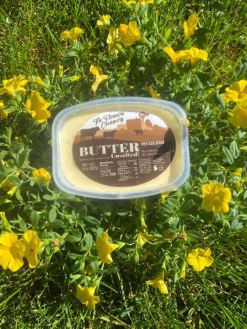 Butter unsalted 8 ounce