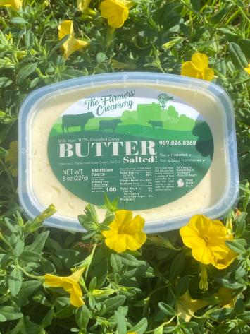 Grass-fed Butter Salted 8 oz