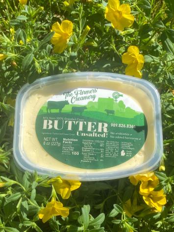 Grass-fed Butter Unsalted 8 oz