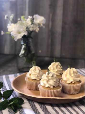 Lemon Rosemary Cupcakes dozen