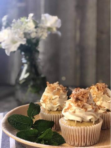 Toasted Coconut Cupcakes dozen