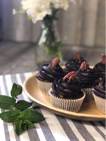 German Chocolate Cupcakes dozen