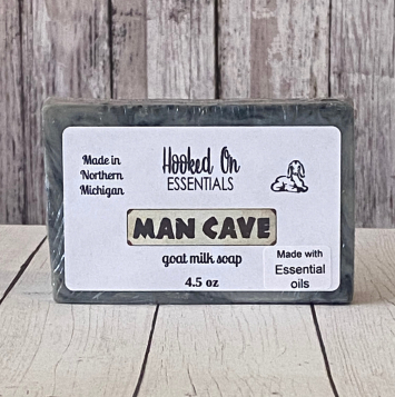 Man Cave Goat Milk Soap