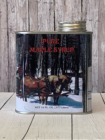 Maple Syrup Tin Pint
