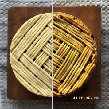 Take and Bake Blueberry Pie