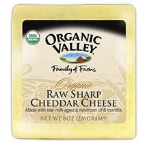 Sharp Cheddar Cheese (RAW)