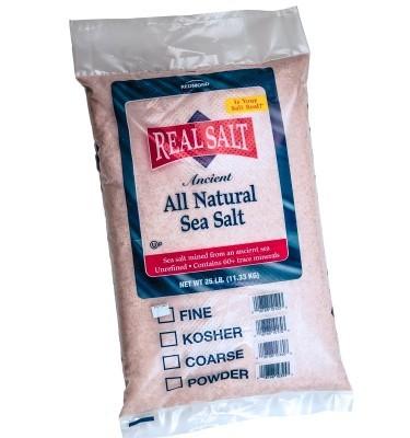 Real Salt - 25 lbs