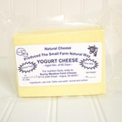 Sunny Meadows Yogurt Cheese (RAW)
