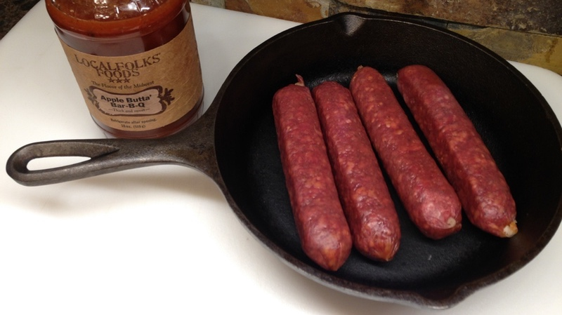 Apple BBQ Smoked Brats In 5 Minutes (Only 2 Ingredients Needed)
