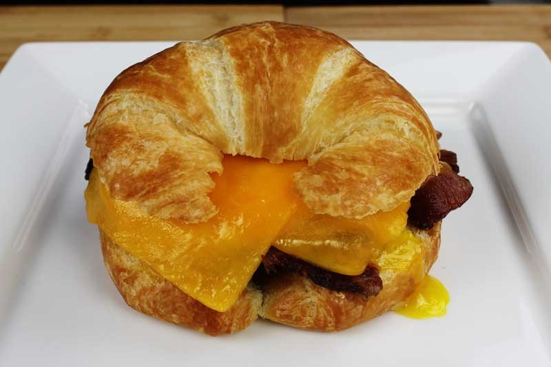 Cottage Bacon, Egg, and Cheese Breakfast Sandwich