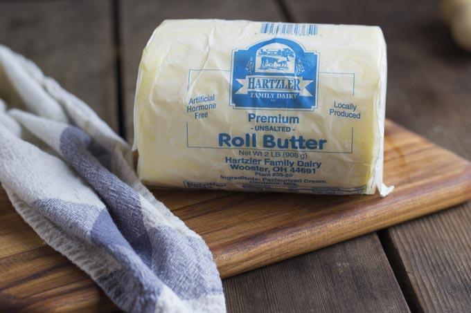 Roll Butter, Unsalted