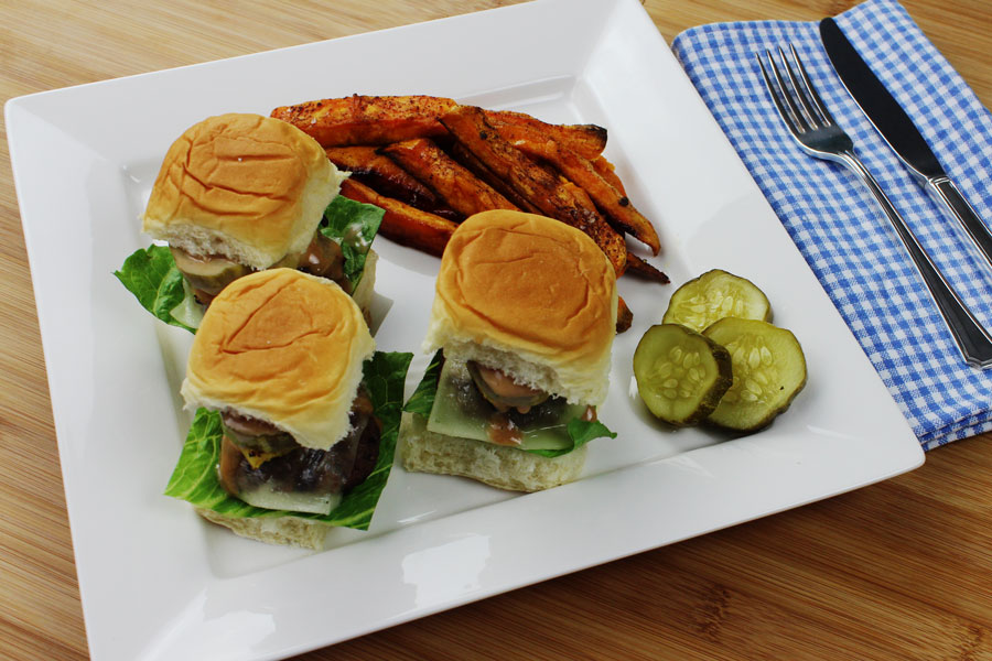 Grass-Fed Hawaiian Sliders
