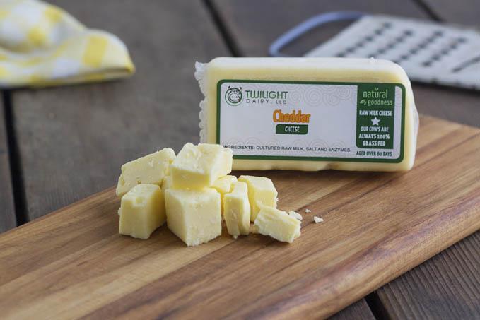 Twilight Dairy - Cheddar Cheese (RAW)