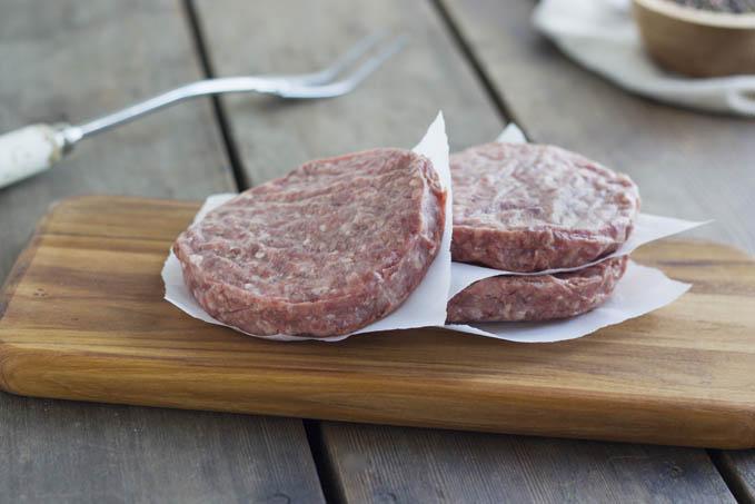 Beef Bacon Burger Patties