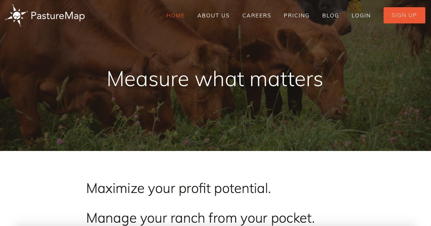 Management App for Pasture-Based Farms