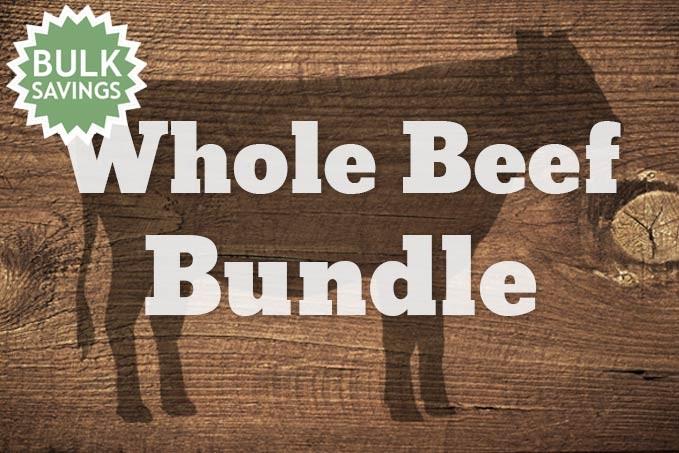 Whole Beef - 360lb. Bundle