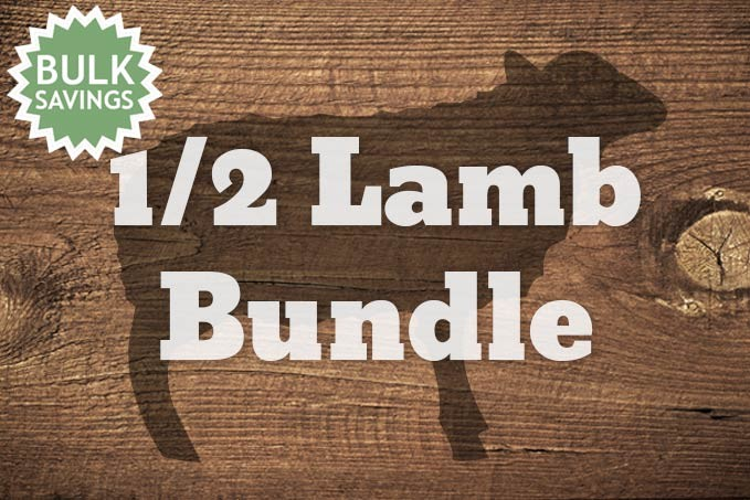 1/2 Lamb - 15lb Bundle