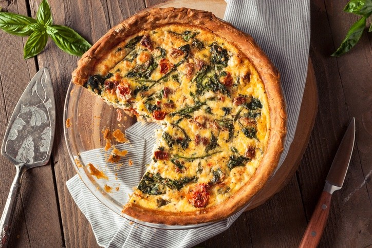Simple foolproof Quiche Recipe