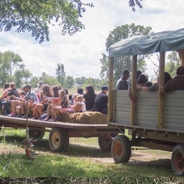 Pasture Wagon Rides