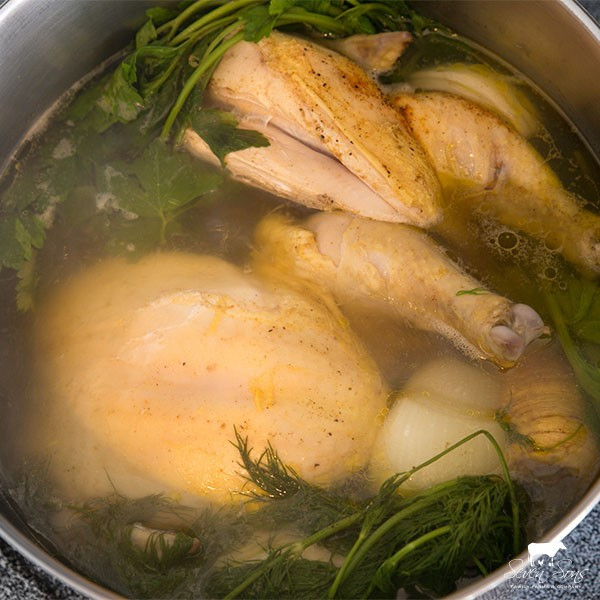 8 PK Stewing Hen Bundle