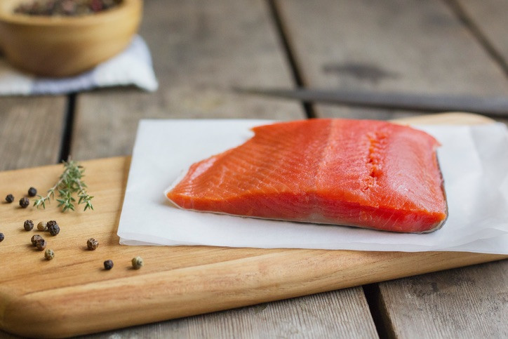 10 PK Sockeye Salmon Filet (Boneless)
