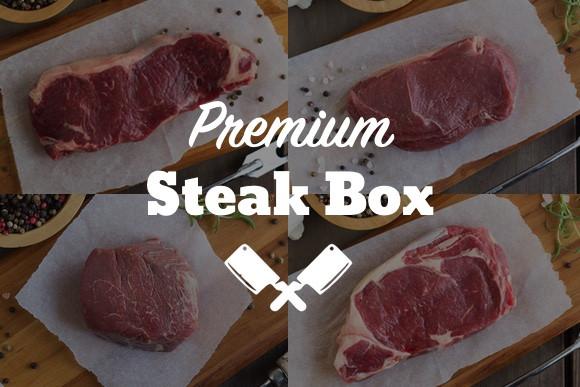 Premium Steak Box.