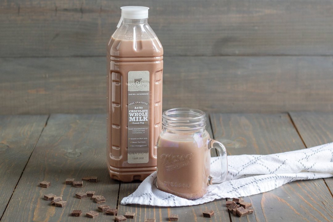 Seven Sons Grassfed Whole Chocolate Milk