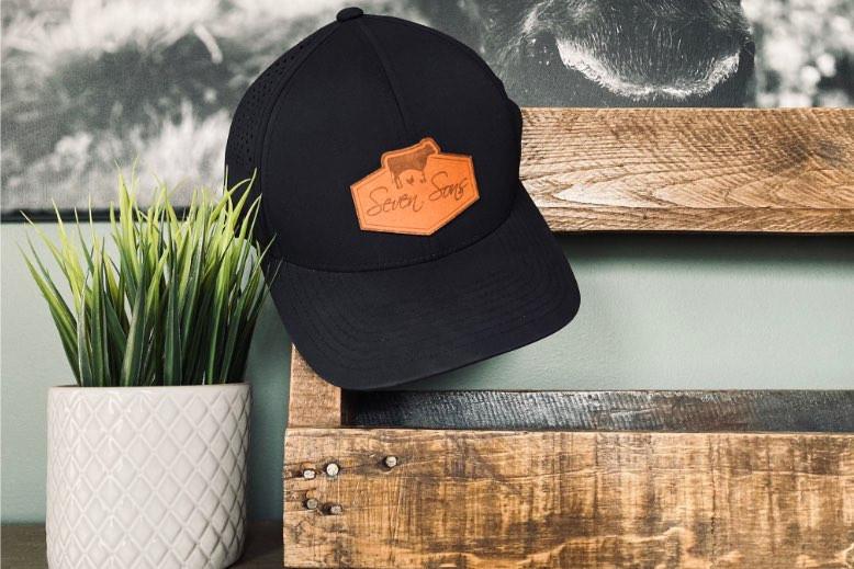 Seven Sons Performance Style Cap (Black)