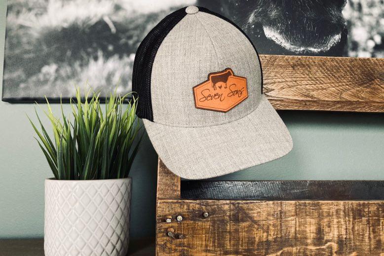 Seven Sons Trucker Style Cap (Grey/Black)