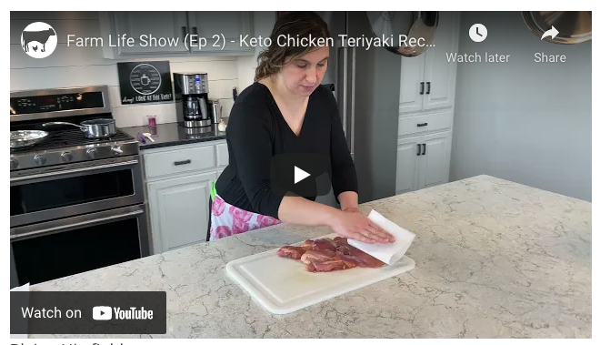 Keto Teriyaki Chicken Recipe