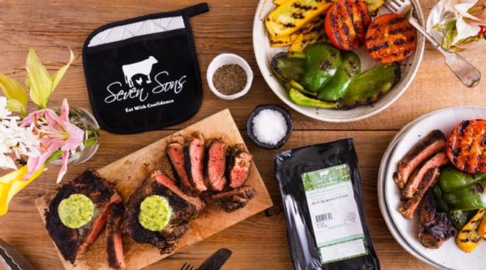 RECIPE: Grilled Delmonico Steak With Garlic Herb Butter