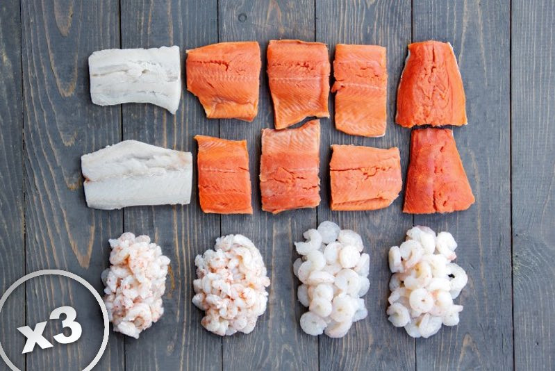 2021 Wild for Seafood Box X3