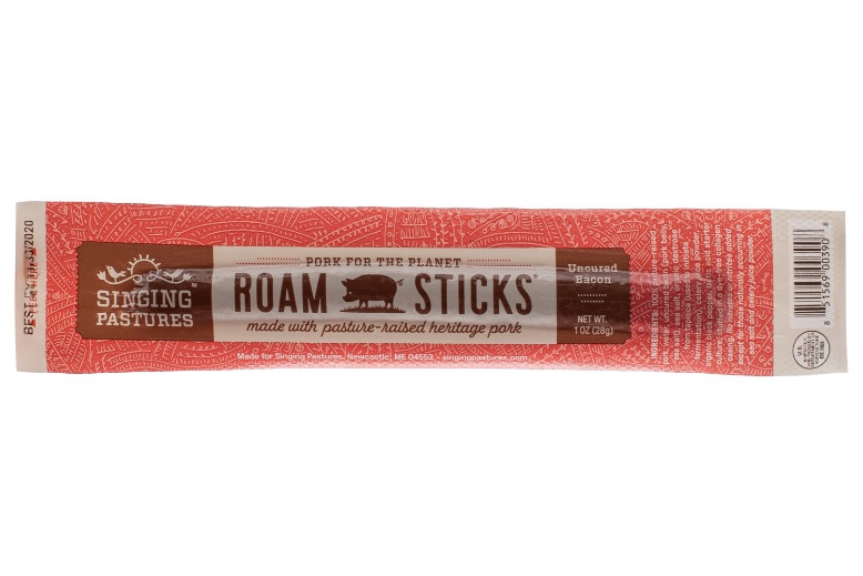 Roam Sticks – Hickory-Smoked Pork With Uncured Bacon