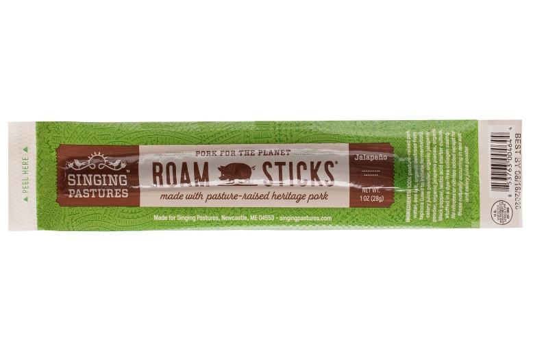 Roam Sticks – Hickory-Smoked Pork With Jalapeño