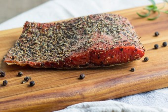 10 PK Peppered Smoked Salmon