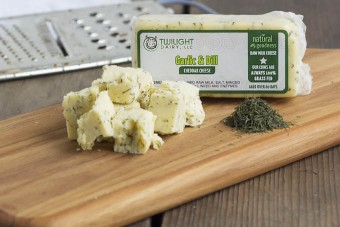 Twilight Dairy - Garlic & Dill Cheese (RAW)