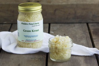 Green Cabbage Kraut