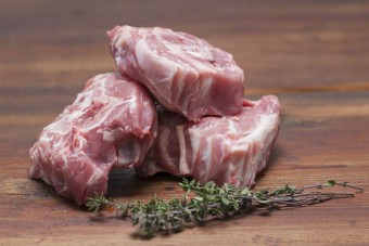 Lamb Bones With Meat