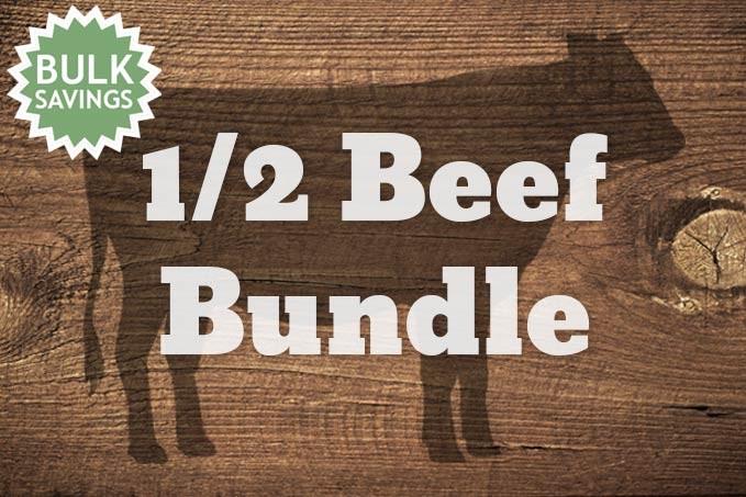 1/2 Beef - 180lb. Bundle
