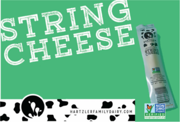 6 PK Hartzler String Cheese