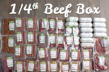 1/4 Beef Box